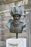 The Great Architect Sinan's Statue stock photos