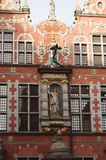 Great Armory in gdansk. Details of the facade of the Great Armory in Gdansk Stock Photos