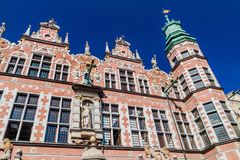 Great Armory in Gdansk, Pola. Nd royalty free stock images