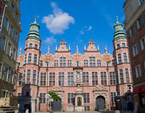 Great armory Gdansk, Poland. Old baroque style great armory Gdansk, Poland Royalty Free Stock Photos