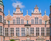 Great armory Gdansk, Poland. Old baroque style great armory Gdansk, Poland Stock Photos