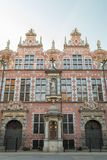 Great Armoury building in Gdansk Royalty Free Stock Images