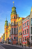 Great Armoury in Gdansk Royalty Free Stock Photo