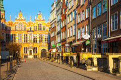 Great Armoury in Gdansk Stock Photo