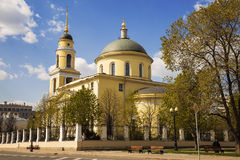 The Great ascension Church at Nikitsky gate, Moscow, Royalty Free Stock Images