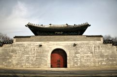 Great Asian Gate Stock Photography