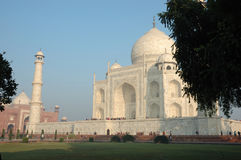 Great asian landmark - Taj Mahal monument,India Royalty Free Stock Image