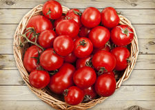 Great assortment of ripe red tomatoes Royalty Free Stock Photos