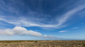 The Great Australian Bight on the Edge of the Nullarbor Plain Stock Photos