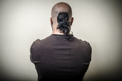 Great back of a large person Royalty Free Stock Images