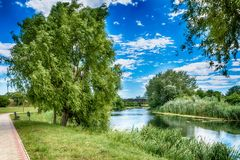Great Backa Canal. From Serbia royalty free stock image