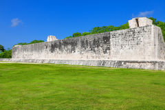Great Ball Court of Chichen Itza, Mexico Stock Photography