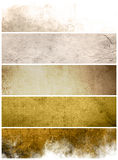 Great banners backgrounds Stock Photography