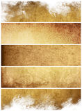 Great banners backgrounds Royalty Free Stock Images