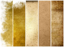 Great banners backgrounds Royalty Free Stock Photography