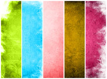 Great banners for textures and backgrounds Stock Images
