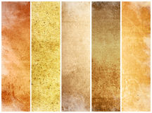 Great banners for textures and backgrounds Stock Photos