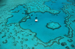 Great barrier reef. The great barrier reef from the air Stock Image