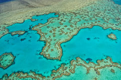 Great Barrier Reef - Aerial View Stock Images