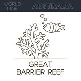 Great Barrier Reef Stock Images