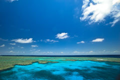 Great Barrier Reef  Clam Gardens Seascape Royalty Free Stock Photo