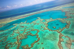 Free Great Barrier Reef From The Sky Royalty Free Stock Photos - 7407048