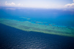 Free Great Barrier Reef From The Sky Stock Photography - 7407302