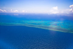Free Great Barrier Reef From The Sky Stock Photo - 7407320