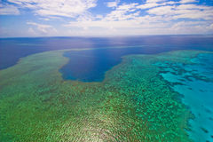 Free Great Barrier Reef From The Sky Royalty Free Stock Photo - 7407505