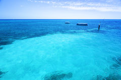 The Great Barrier Reef in Queensland State, Australia Stock Photos