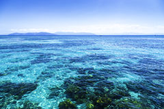 The Great Barrier Reef in Queensland State, Australia.  stock image
