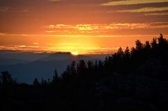 Great Basin. Morning at Great Basin National Park in eastern Nevada stock photos
