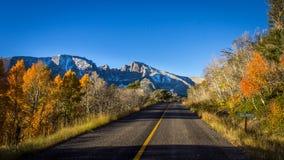Great Basin Morning. Early morning light on Wheeler Peak in Great Basin National Park, Nevada, USA stock photo