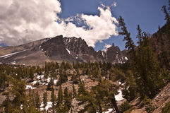 Great Basin National Park. Mountain view from Great Basin National Park in Nevada stock photography