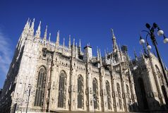 Great baslique in Milan Royalty Free Stock Photography