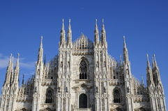 Great baslique in Milan Royalty Free Stock Photos