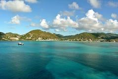 Great Bay port in St. Maarten. Great Bay cruise port in St. Maarten, Kingdom of Netherlands royalty free stock photos