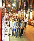 Great Bazaar Istanbul street scene Stock Photos