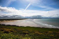 Saunton Sands, Devon, England royalty free stock photos