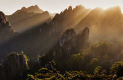 Great beauty of Huangshan Royalty Free Stock Photography