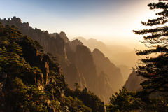 Great beauty of Huangshan Royalty Free Stock Photo