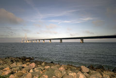 Great Belt Bridge Stock Images