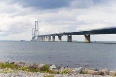 Great belt bridge Royalty Free Stock Image
