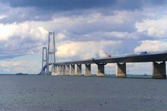 Great belt bridge Stock Image