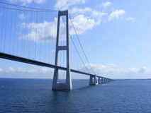 Great Belt Fixed Link Stock Image