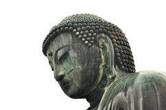 Free Great Bhudda In Kamakura Isolated Face Stock Photos - 55074673