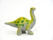 A great big green coloring Apatosaurus Stock Photo