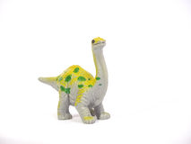 A great big green coloring Apatosaurus Stock Image