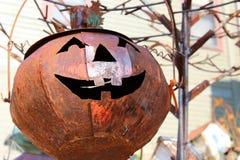 Great big jack-o-lantern Stock Image