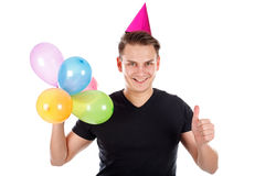 Great birthday party Stock Photography